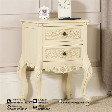 Ranjang Ukir nakas ukir baroque createak furniture createak furniture