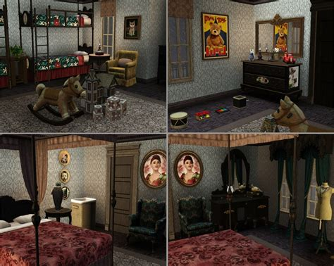 dark gothic victorian bedroom house plans