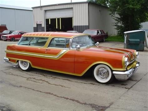 1955 Pontiac Safari by 1955 Pontiac Safari Waggin