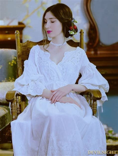 vintage sexy medieval underwear chemise dress devilnight