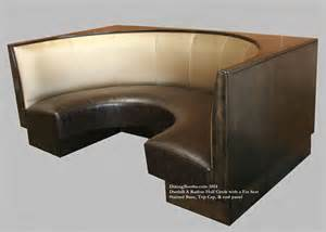 dining settee curved collections