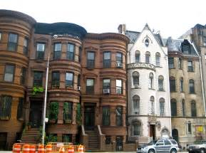 Houses In New York by Row Houses In Sugar Hill Harlem Ephemeral New York