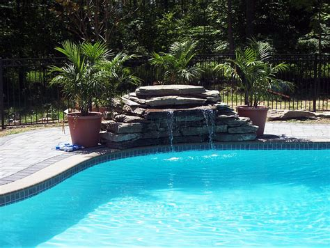 pool designs with waterfalls inground pool waterfalls backyard ideas pinterest