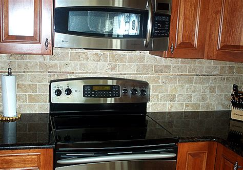 faux brick kitchen backsplash baldauf contracting inc