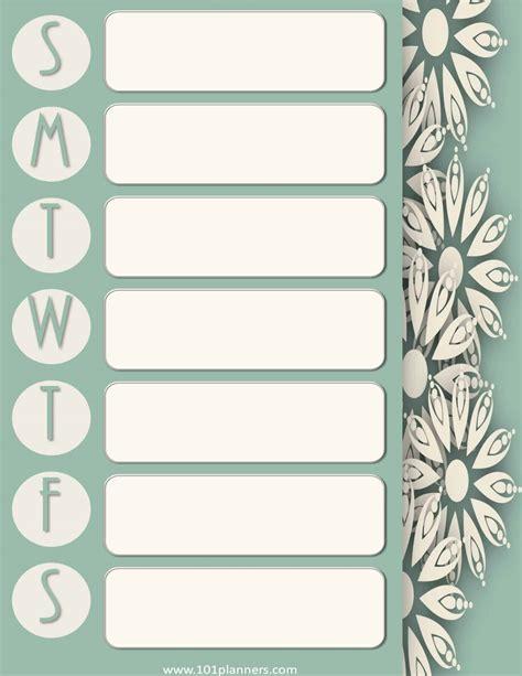 make a calendar free printable weekly calendar maker create free custom calendars