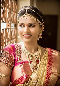 on pinterest saree blouse south indian bride and bridal sarees south indian bride bridal saree makeup jewellery sari