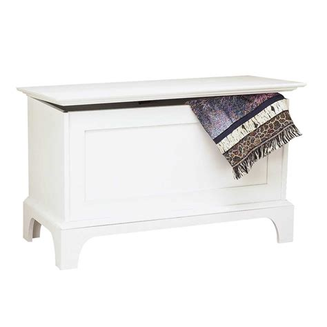 blanket bench bench white pine shaker blanket chest