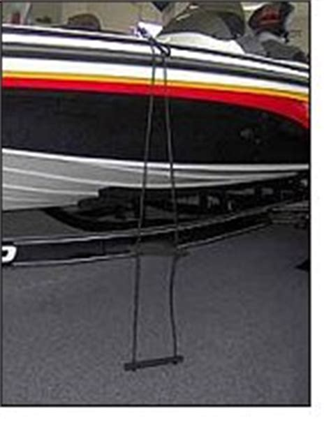 jet boat ladder ez riser flexible boarding ladders for your bass boat or