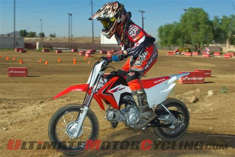 2013 Honda CRF110F   First Ride Test   Ultimate MotorCycling