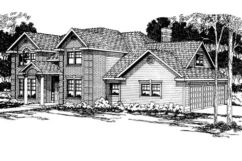 colonial home plans colonial house plans willmar 30 048 associated designs