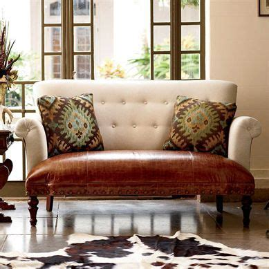 King Ranch Home Decor | catala aqua loveseat king ranch home decor pinterest