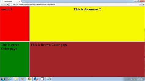 html tutorial photo gallery html frameset exle tutorial galleryimage co
