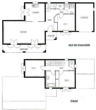 Dessiner Un Plan De Maison 3784 by Plan De Maison Autocad