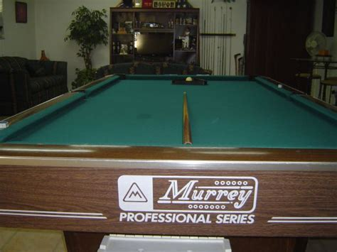 murrey pool table murrey pool tables espotted