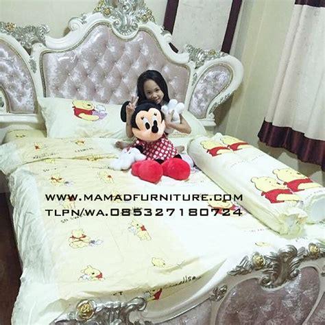 Tempat Tidur Ukiran Klasik tempat tidur model ukiran klasik jepara mamad furniture