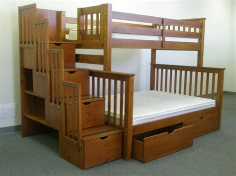 save big on stairway bunk bed with drawers