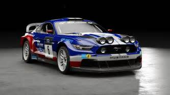 Ford Rally Gt Sport Ford Mustang B Rally Car