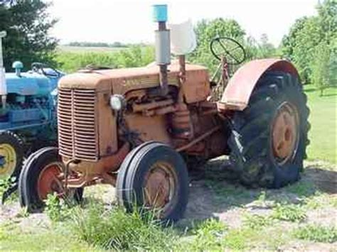 Used Farm Tractors For Sale Case 500 Diesel 2003 05 21