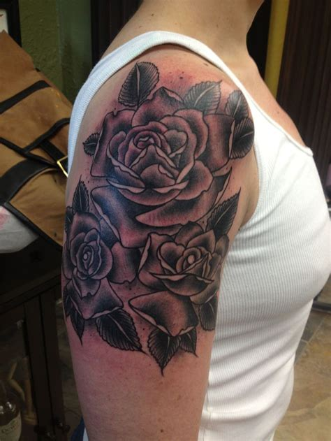 quarter sleeve rose tattoo 41 best images about i like it on pinterest pictures