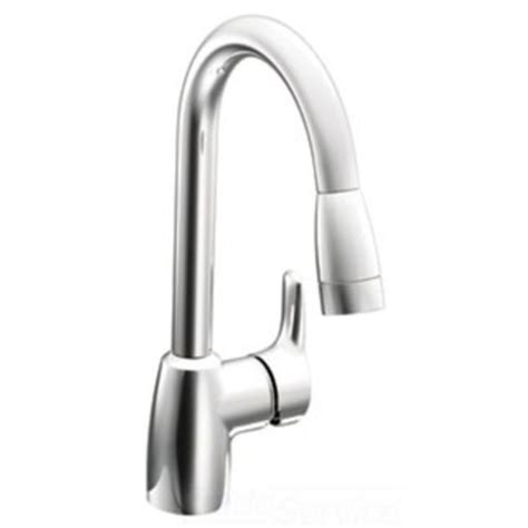 moen single handle pullout kitchen faucet moen cfg ca42519 single handle pullout kitchen faucet