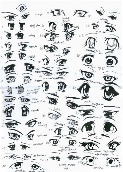 Female Anime Eyes By Eliantart On Deviantart