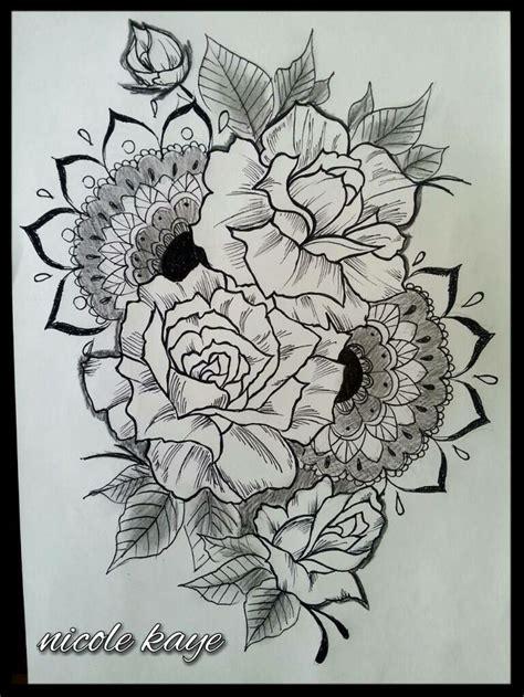 tatuaggi fiori senza contorno oltre 25 fantastiche idee su tatuaggi fiori mandala su