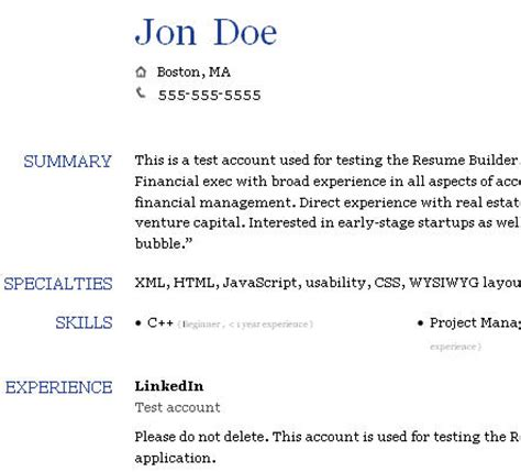 Resume Builder Linkedin by Two Tools To Generate Your Basic Profile Info From Linkedin