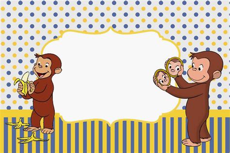 Curious George Birthday Card Curious George Free Printable Invitations Is It For