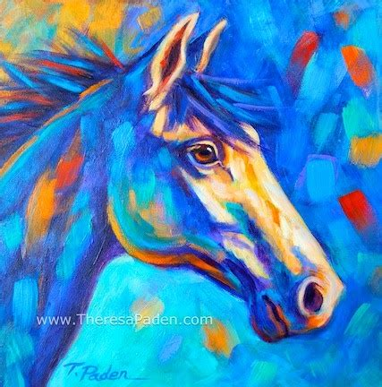 colorful horses paintings of horses affordable and colorful