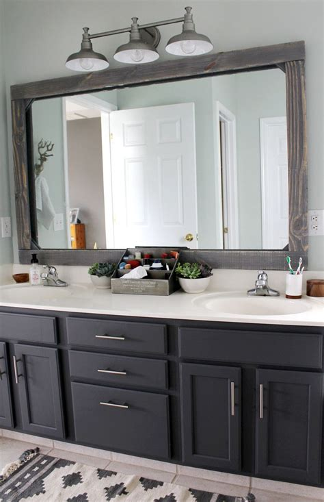 Ideas For Bathroom Mirrors by Best 25 Farmhouse Bathroom Mirrors Ideas On