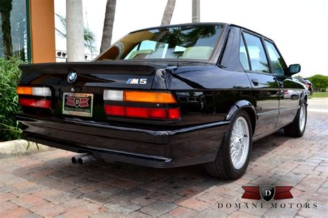 bmw e28 m5 for sale ultra clean 1988 e28 bmw m5 for sale thecherrycreeknews