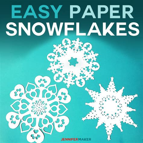 How To Make Awesome Paper Snowflakes - paper snowflake templates how to make amazing winter