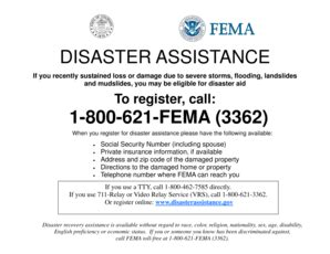fema help desk phone number fema disaster assistance phone number forms and templates
