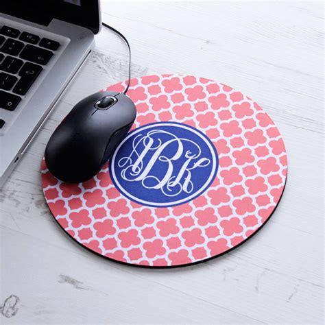 Personalised Mouse Mats by Personalised Clover Mouse Mat By We To Create