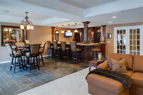 basement bar decor basement bar decor basement traditional with bar seating