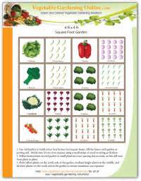 Free Vegetable Garden Layout Get The Dirt Issue 002 Time For Winter Planning