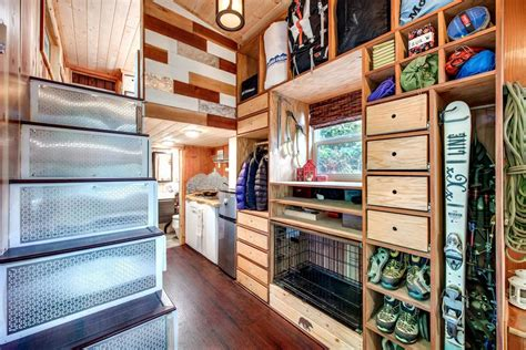 small house plans with lots of storage basec by backcountry tiny homes tiny living