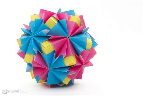 Modular Origami Sonobe - waltz kusudama by sinayskaya go origami