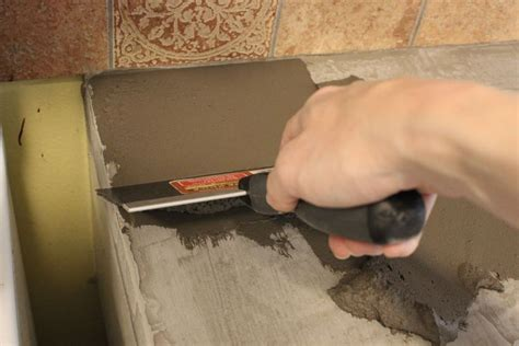 diy concrete countertops wood the imperfect of concrete countertops