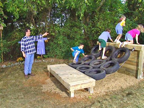 Backyard Obstacle Course Ideas Diy Hardscape Building Retaining Walls Walkways Patios More Diy
