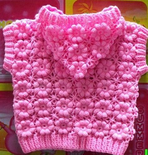 pin chalecos tejidos para bebes ninos palillo crochet delicadezas en crochet gabriela chaleco con capucha para