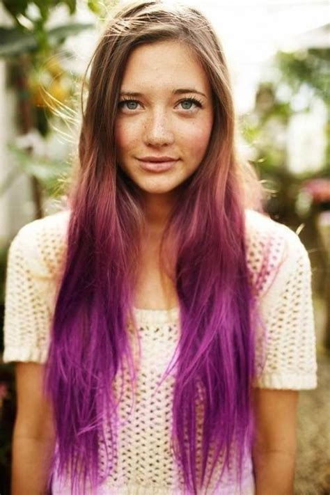 hairstyles for long hair dyed hair dye ideas for long hair fashion trends styles for 2014