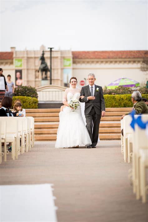 Wedding Aisle Organ by Balboa Park Organ Pavilion Wedding