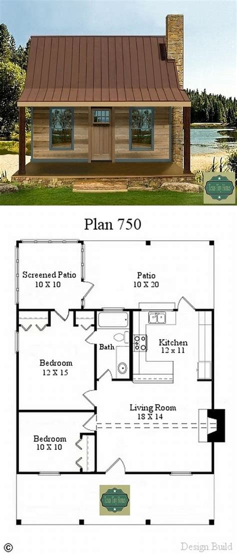 small house plans texas texas tiny homes 750 a c sq ft two bedrooms 1 bath