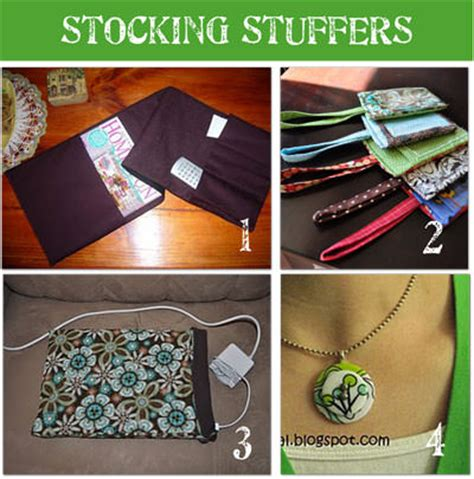 Handmade Stuffers - 12 gifts stuffers tip junkie