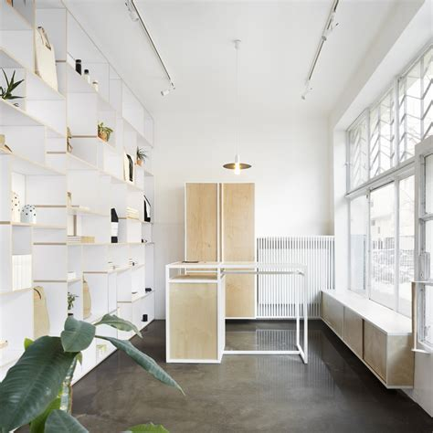 home inside design warszawa thisispaper studio creates minimal interior for first standalone design store studio przedmiotu