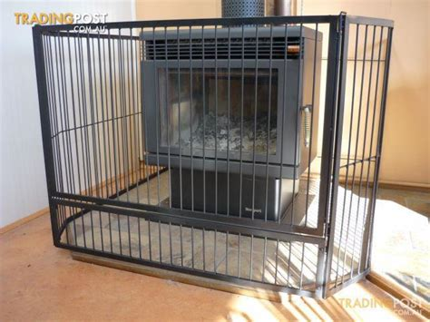 steel child safety guard screen with gate b new for