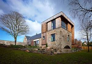 Country Modern Homes Design Scottish Country House Incorporates Ruins Of A Former Mill Idesignarch Interior Design