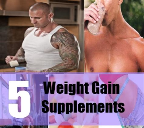 a supplement to gain weight weight gain supplements how to gain weight home