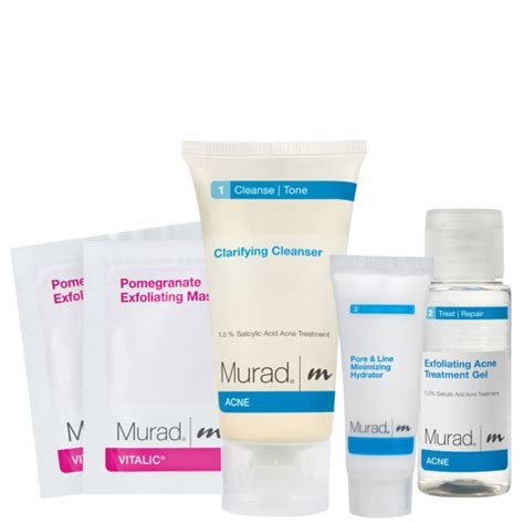 Murad Pomegranate Spa Kit by Murad Acne Discovery Kit Free Shipping Lookfantastic